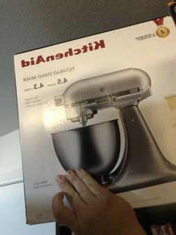 KitchenAid Tilt-Head Stand Mixer, 4.5 Quarts, Silver