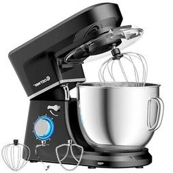 Tilt-Head Stand Mixer 7.5 Qt 6 Speed 660W with Dough Hook, W