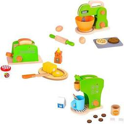 Toy Kitchen Accessories - Mixer, Toaster and Coffee Set