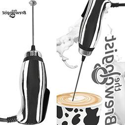 Turbo Milk Frother and Frappe Maker with SUPER POWERFUL moto
