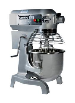 Uniworld UPM-20E Commercial 20 Quart Mixer With Guard and 3