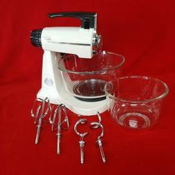 Vintage Sunbeam Mixmaster 12 Speed Stand Mixer with All Acce