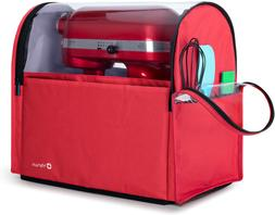 Yarwo Visible Stand Mixer Cover for 6-8 qt KitchenAid Mixer,