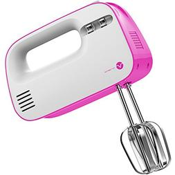 Vremi Electric Hand Mixer 3 Speed with Built-in Storage Case