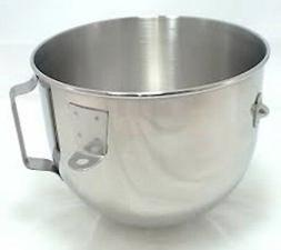 WPW10714130 - 5QT Stainless Steel Bowl w/ Handle for Kitchen